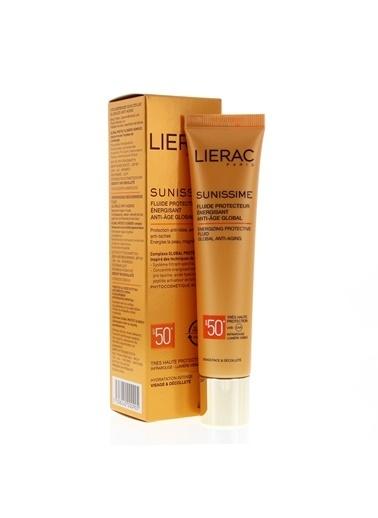 Lierac Sunissime Energizing Protective Fluid Spf 50+   40 Ml Renksiz